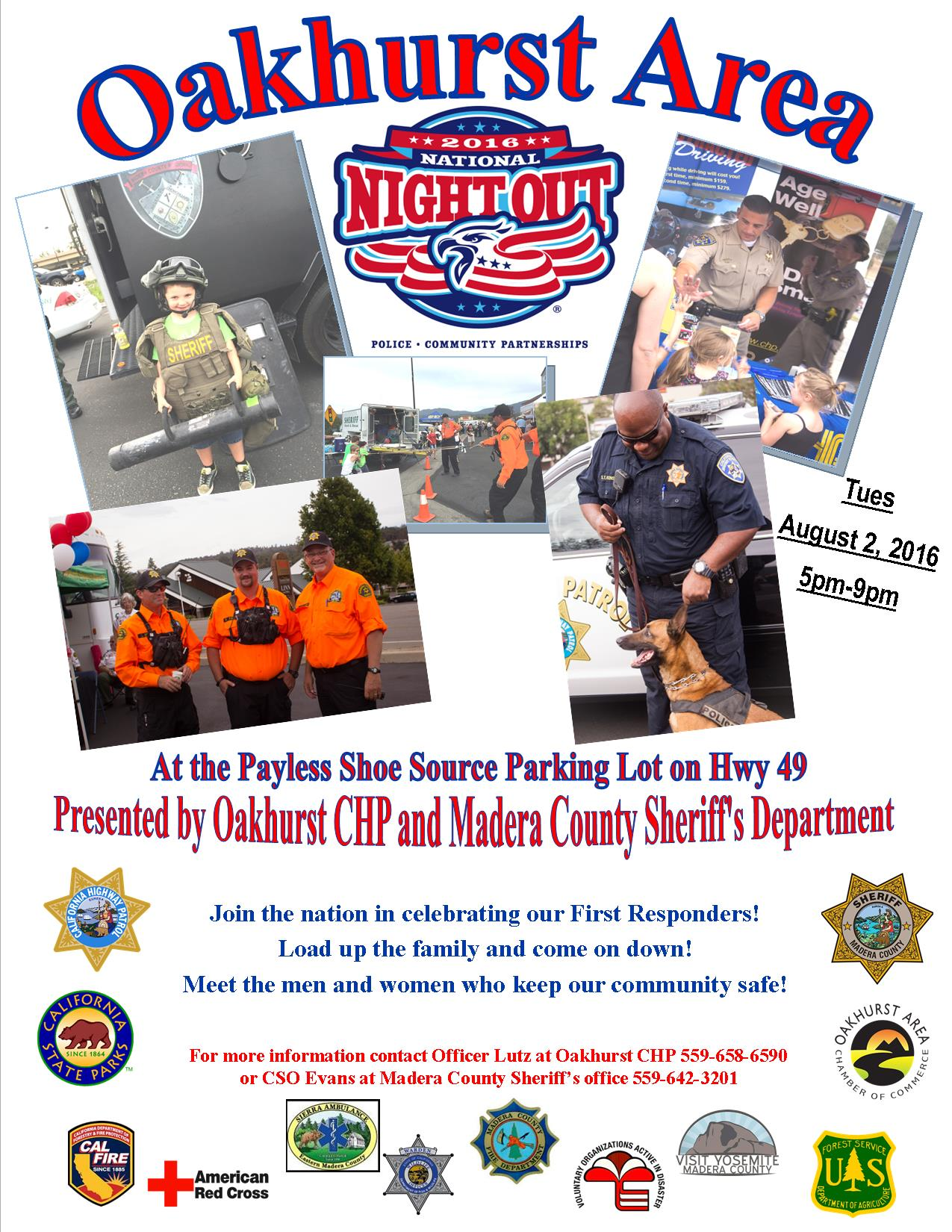 National Night Out Flyer 2016